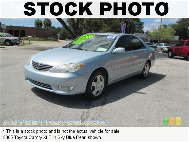 Stock photo for this 2005 Toyota Camry  2.4 Liter DOHC 16-Valve VVT-i 4 Cylinder 5 Speed Automatic
