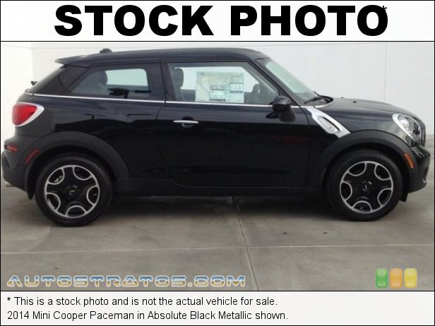 Stock photo for this 2014 Mini Cooper Paceman 1.6 Liter DOHC 16-Valve VVT 4 Cylinder 6 Speed Automatic