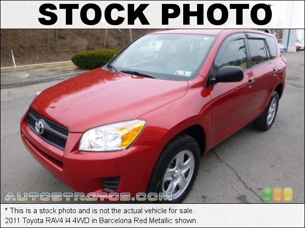 Stock photo for this 2011 Toyota RAV4 I4 4WD 2.5 Liter DOHC 16-Valve Dual VVT-i 4 Cylinder 4 Speed ECT-i Automatic