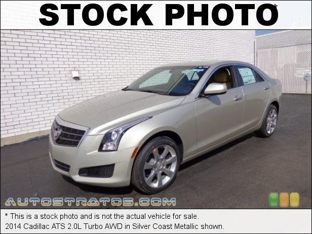 Stock photo for this 2014 Cadillac ATS 2.0L Turbo AWD 2.0 Liter DI Turbocharged DOHC 16-Valve VVT 4 Cylinder 6 Speed Automatic