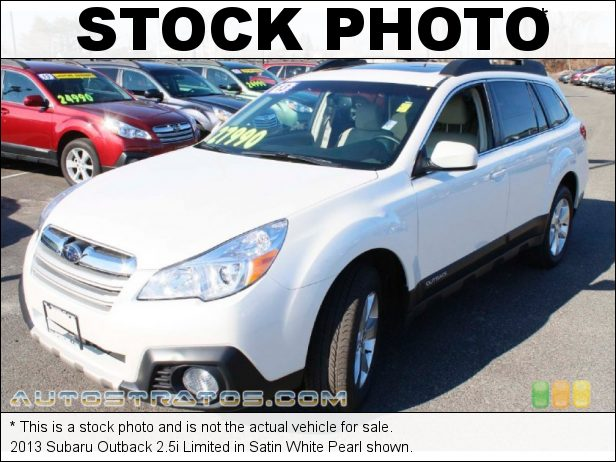 Stock photo for this 2014 Subaru Outback 2.5i Limited 2.5 Liter DOHC 16-Valve VVT Flat 4 Cylinder Lineartronic CVT Automatic