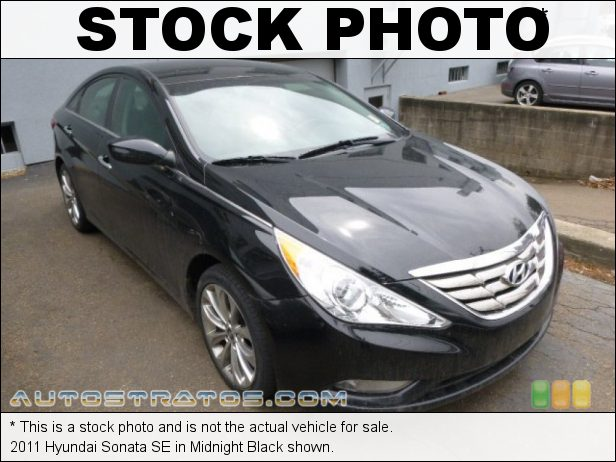 Stock photo for this 2011 Hyundai Sonata  2.4 Liter GDI DOHC 16-Valve CVVT 4 Cylinder 6 Speed Shiftronic Automatic