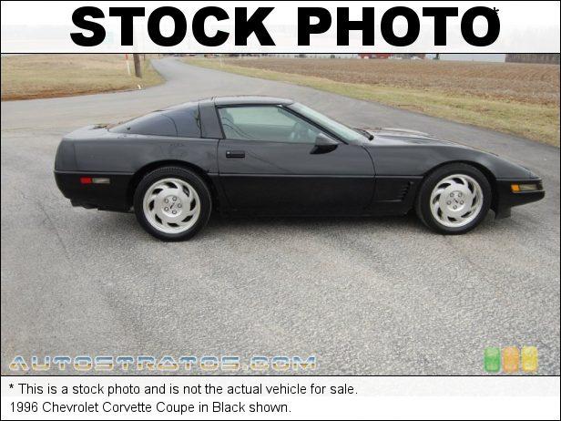 Stock photo for this 1996 Chevrolet Corvette Coupe 5.7 Liter OHV 16-Valve LT1 V8 6 Speed ZF Manual