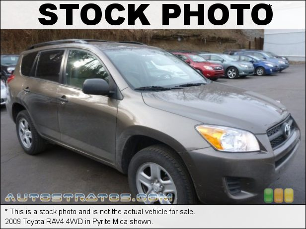 Stock photo for this 2009 Toyota RAV4 4WD 2.5 Liter DOHC 16-Valve Dual VVT-i 4 Cylinder 4 Speed Automatic
