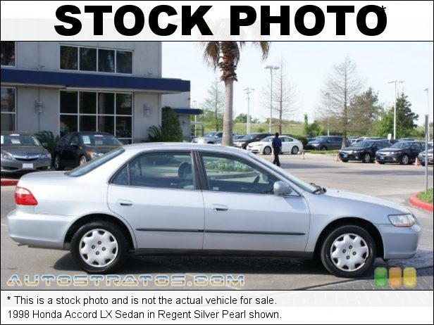 Stock photo for this 1998 Honda Accord LX Sedan 2.3 Liter SOHC 16-Valve VTEC 4 Cylinder 4 Speed Automatic