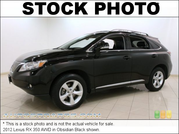 Stock photo for this 2012 Lexus RX 350 AWD 3.5 Liter DOHC 24-Valve VVT-i V6 6 Speed ECT-i Automatic