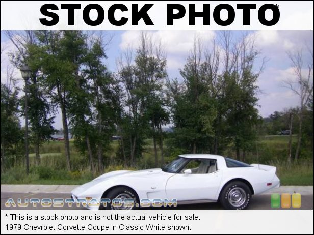 Stock photo for this 1979 Chevrolet Corvette Coupe 350 cid OHV 16-Valve L82 V8 Automatic