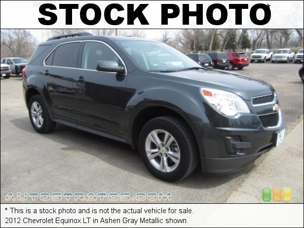 Stock photo for this 2012 Chevrolet Equinox LT 2.4 Liter SIDI DOHC 16-Valve VVT ECOTEC 4 Cylinder 6 Speed Automatic
