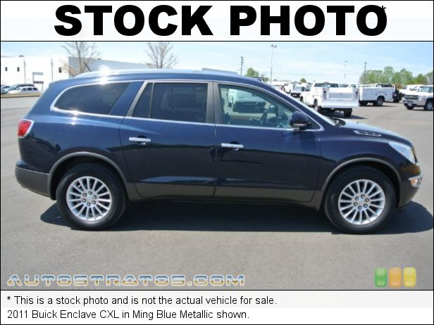 Stock photo for this 2011 Buick Enclave CXL 3.6 Liter DFI DOHC 24-Valve VVT V6 6 Speed Automatic