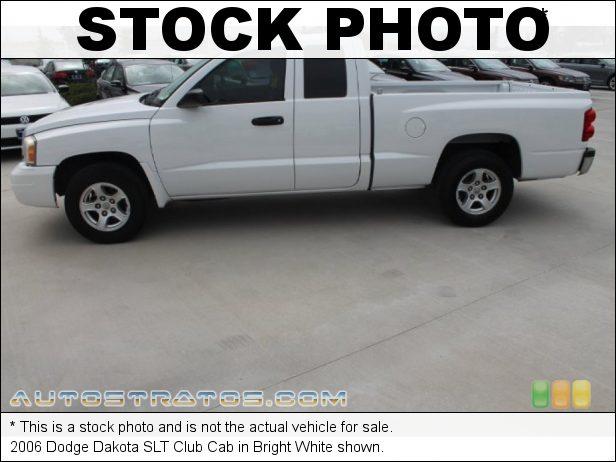 Stock photo for this 2006 Dodge Dakota SLT Club Cab 3.7 Liter SOHC 12-Valve PowerTech V6 4 Speed Automatic