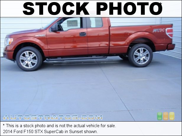 Stock photo for this 2014 Ford F150 SuperCab 3.7 Liter Flex-Fuel DOHC 24-Valve Ti-VCT V6 6 Speed Automatic
