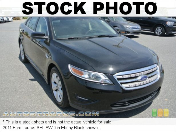 Stock photo for this 2011 Ford Taurus SEL AWD 3.5 Liter DOHC 24-Valve VVT Duratec 35 V6 6 Speed SelectShift Automatic