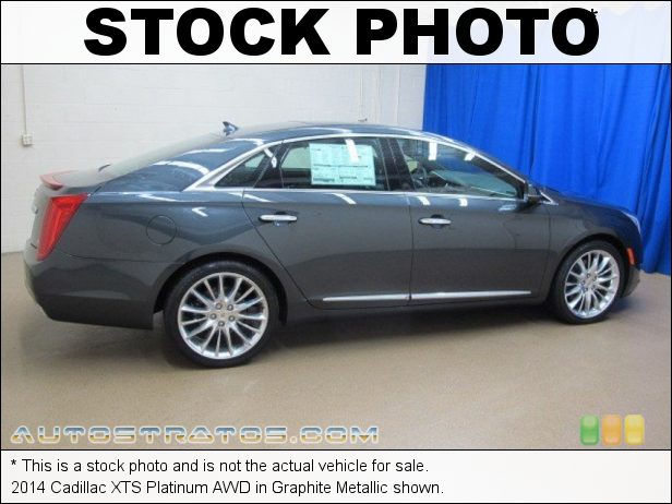Stock photo for this 2014 Cadillac XTS Platinum AWD 3.6 Liter SIDI DOHC 24-Valve VVT V6 6 Speed Automatic