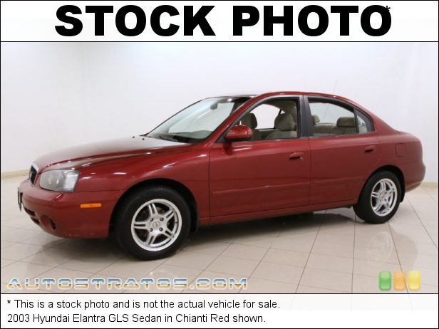 Stock photo for this 2003 Hyundai Elantra GLS Sedan 2.0 Liter DOHC 16 Valve 4 Cylinder 4 Speed Automatic
