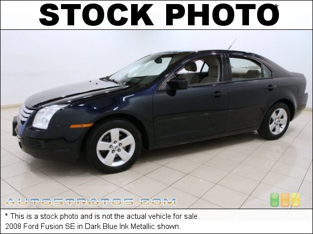 Stock photo for this 2008 Ford Fusion SE 2.3L DOHC 16V iVCT Duratec Inline 4 Cyl. 5 Speed Manual