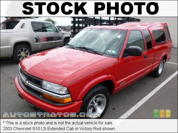 Stock photo for this 1999 Chevrolet S10 LS Extended Cab 4.3 Liter OHV 12-Valve V6 4 Speed Automatic