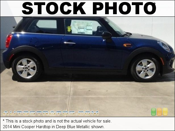 Stock photo for this 2014 Mini Cooper Hardtop 1.5 Liter TwinPower Turbocharged DOHC 12-Valve VVT 3 Cylinder 6 Speed Automatic