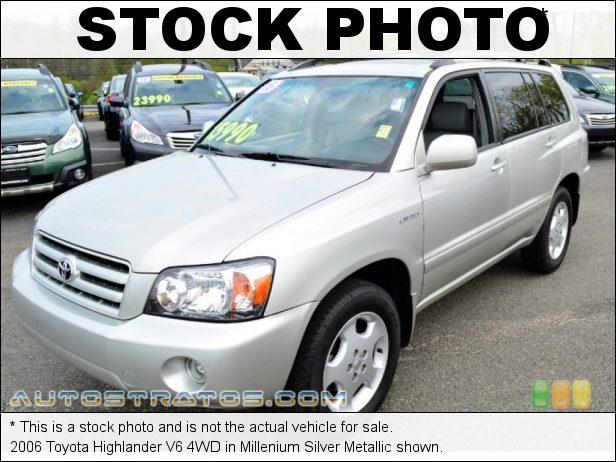 Stock photo for this 2006 Toyota Highlander 4WD 3.3 Liter DOHC 24-Valve VVT-i V6 5 Speed Automatic