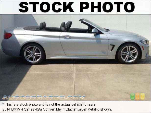 Stock photo for this 2014 BMW 4 Series 428i Convertible 2.0 Liter DI TwinPower Turbocharged DOHC 16-Valve VVT 4 Cylinder 8 Speed Sport Automatic