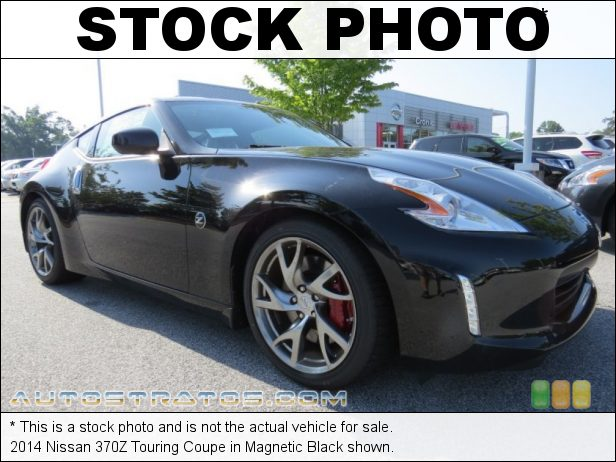 Stock photo for this 2014 Nissan 370Z Touring Coupe 3.7 Liter DOHC 24-Valve CVTCS V6 7 Speed Automatic