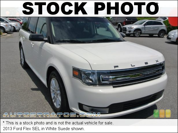 Stock photo for this 2013 Ford Flex SEL 3.5 Liter DOHC 24-Valve Ti-VCT V6 6 Speed SelectShift Automatic