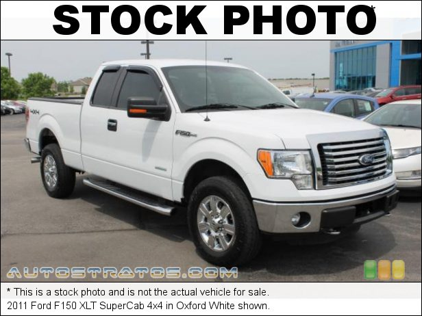 Stock photo for this 2011 Ford F150 SuperCab 4x4 3.5 Liter GTDI EcoBoost Twin-Turbocharged DOHC 24-Valve VVT V6 6 Speed Automatic