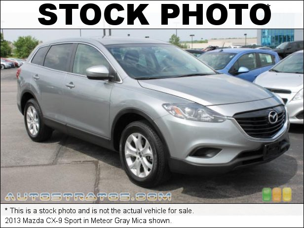Stock photo for this 2014 Mazda CX-9 Sport 3.7 Liter DOHC 24-Valve VVT V6 6 Speed Automatic