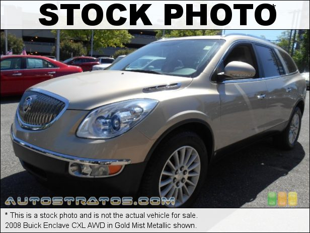 Stock photo for this 2008 Buick Enclave CXL AWD 3.6 Liter DOHC 24-Valve VVT V6 6 Speed Automatic