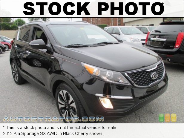 Stock photo for this 2012 Kia Sportage SX AWD 2.0 Liter Turbocharged GDI DOHC 16-Valve CVVT 4 Cylinder 6 Speed Automatic