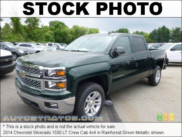 Stock photo for this 2014 Chevrolet Silverado 1500 Crew Cab 4x4 5.3 Liter DI OHV 16-Valve VVT EcoTec3 V8 6 Speed Automatic