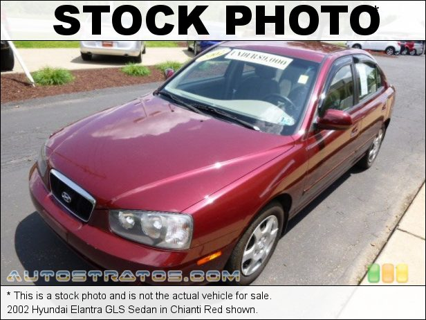 Stock photo for this 2002 Hyundai Elantra GLS Sedan 2.0 Liter DOHC 16 Valve 4 Cylinder 4 Speed Automatic