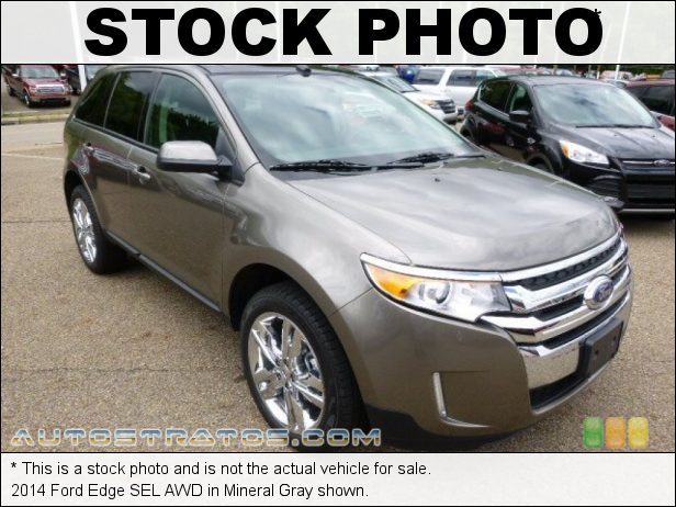 Stock photo for this 2014 Ford Edge SEL AWD 3.5 Liter DOHC 24-Valve Ti-VCT V6 6 Speed Automatic
