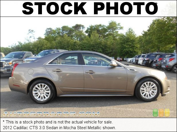 Stock photo for this 2012 Cadillac CTS 3.0 Sedan 3.0 Liter DI DOHC 24-Valve VVT V6 6 Speed Automatic