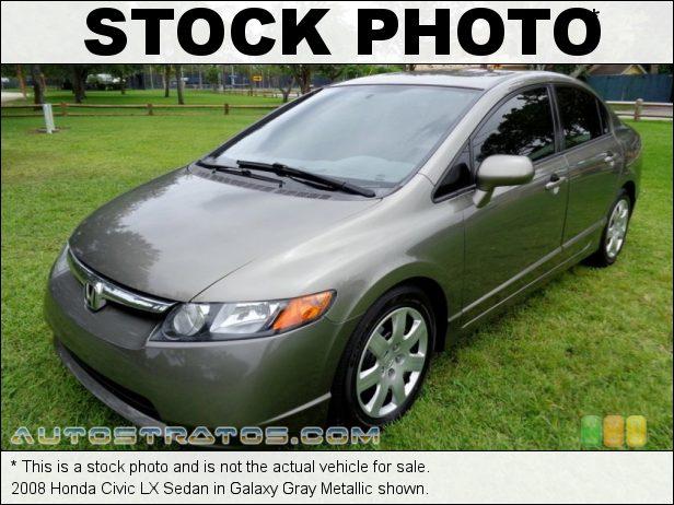Stock photo for this 2008 Honda Civic LX Sedan 1.8 Liter SOHC 16-Valve 4 Cylinder 5 Speed Automatic