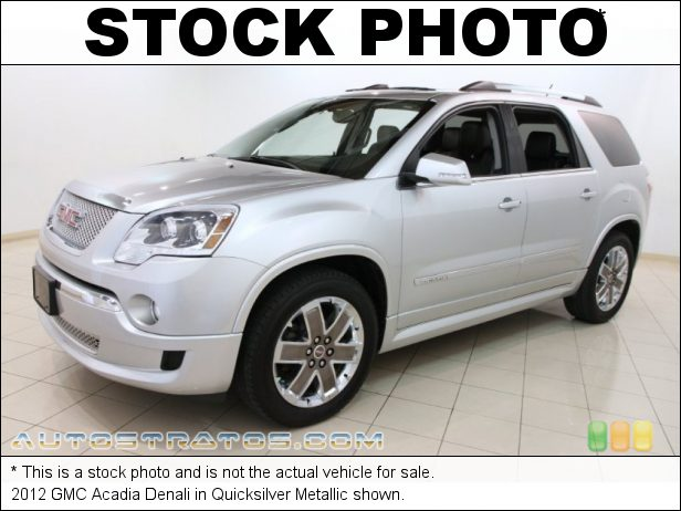 Stock photo for this 2012 GMC Acadia Denali 3.6 Liter SIDI DOHC 24-Valve VVT V6 6 Speed Automatic