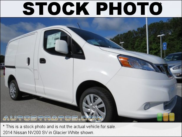 Stock photo for this 2014 Nissan NV200 SV 2.0 iter DOHC 16-Valve CVTCS 4 Cylinder Xtronic CVT Automatic