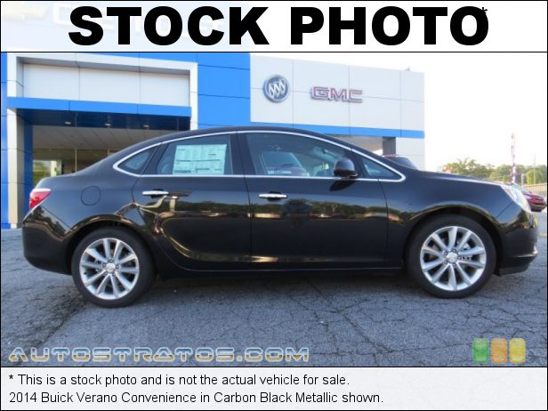 Stock photo for this 2014 Buick Verano Convenience 2.4 Liter DI DOHC 16-Valve VVT ECOTEC 4 Cylinder 6 Speed Automatic