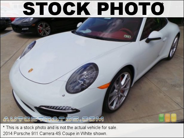Stock photo for this 2014 Porsche 911 Carrera 4S Coupe 3.8 Liter DFI DOHC 24-Valve VarioCam Plus Flat 6 Cylinder 7 Speed PDK double-clutch Automatic