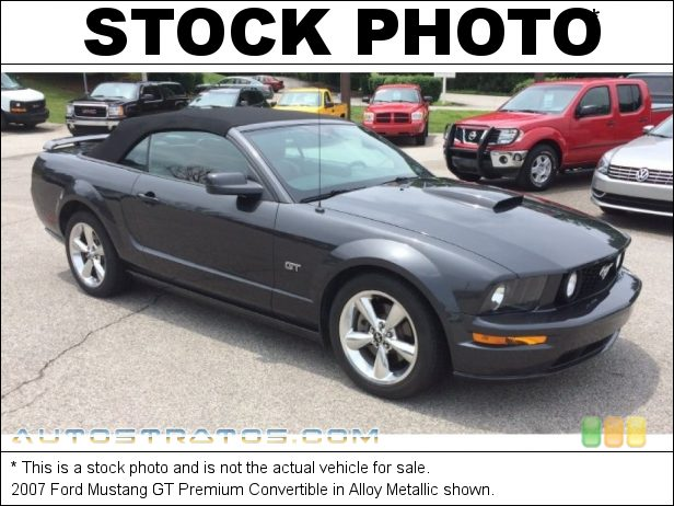 Stock photo for this 2007 Ford Mustang GT Premium Convertible 4.6 Liter SOHC 24-Valve VVT V8 5 Speed Manual