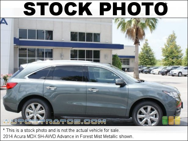 Stock photo for this 2014 Acura MDX SH-AWD Advance 3.5 Liter DI SOHC 24-Valve i-VTEC V6 6 Speed Sequential SportShift Automatic