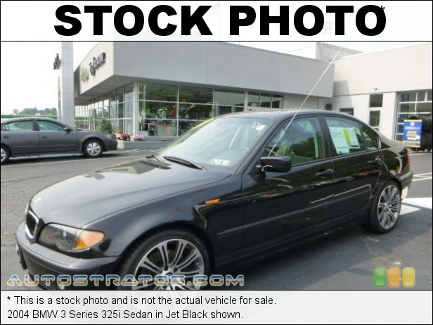 Stock photo for this 2004 BMW 3 Series 325i Sedan 2.5L DOHC 24V Inline 6 Cylinder 5 Speed Manual