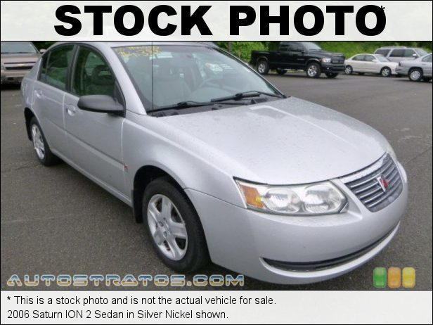 Stock photo for this 2005 Saturn ION 2 Sedan 2.2 Liter DOHC 16-Valve Ecotec 4 Cylinder 5 Speed Manual