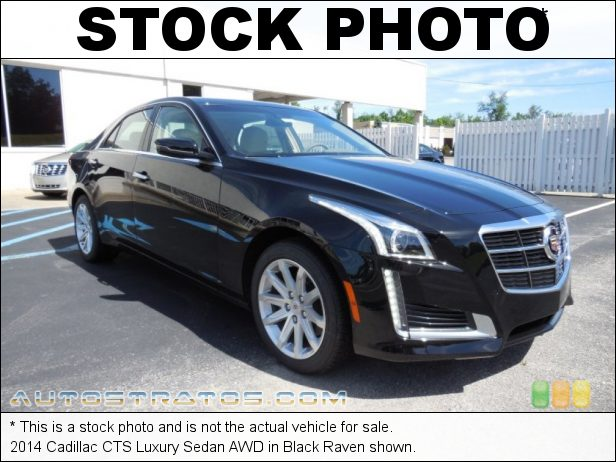 Stock photo for this 2014 Cadillac CTS Luxury Sedan AWD 2.0 Liter DI Turbocharged DOHC 16-Valve VVT 4 Cylinder 6 Speed Automatic