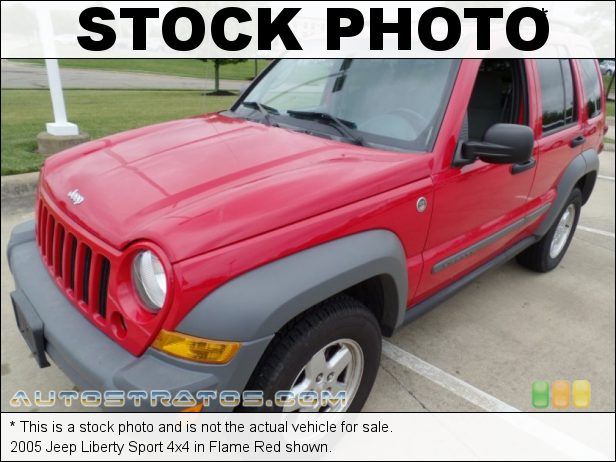 Stock photo for this 2005 Jeep Liberty Sport 4x4 3.7 Liter SOHC 12V Powertech V6 6 Speed Manual