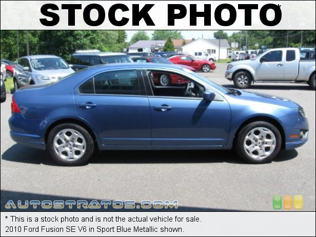 Stock photo for this 2010 Ford Fusion SE V6 3.0 Liter DOHC 24-Valve VVT Duratec Flex-Fuel V6 6 Speed Selectshift Automatic