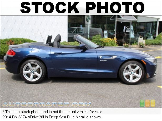 Stock photo for this 2014 BMW Z4 sDrive28i 2.0 Liter DI TwinPower Turbocharged DOHC 16-Valve VVT 4 Cylinder 8 Speed Sport Automatic