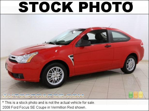 Stock photo for this 2008 Ford Focus Coupe 2.0L DOHC 16V Duratec 4 Cylinder 5 Speed Manual