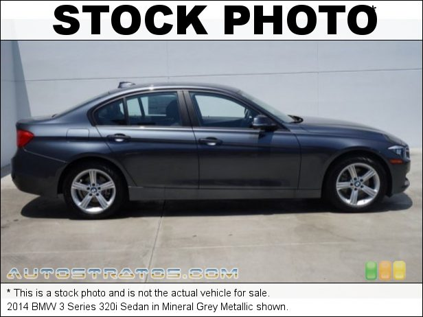 Stock photo for this 2014 BMW 3 Series 320i Sedan 2.0 Liter DI TwinPower Turbocharged DOHC 16-Valve 4 Cylinder 8 Speed Steptronic Automatic