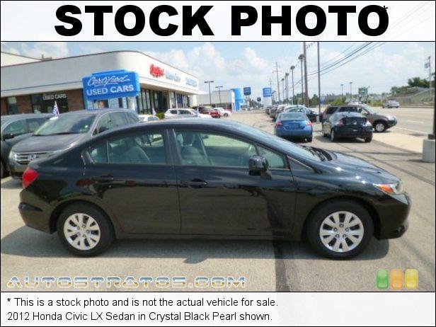 Stock photo for this 2012 Honda Civic LX Sedan 1.8 Liter SOHC 16-Valve i-VTEC 4 Cylinder 5 Speed Automatic
