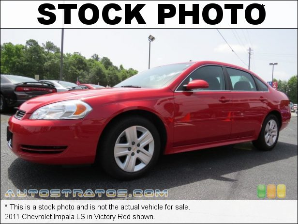 Stock photo for this 2011 Chevrolet Impala LS 3.5 Liter OHV 12-Valve Flex-Fuel V6 4 Speed Automatic